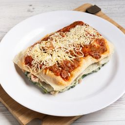 Lasagna de Jamon, Queso y Verdura