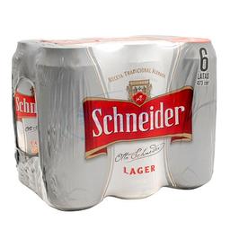 Six Pack Cerveza Schneider Lager 473ml