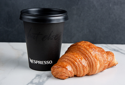 Croissant +Café