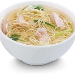 Sopa womin de pollo