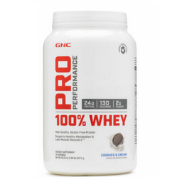 100% Whey Protein - 25 Servicios - Cookies And Cream
