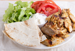 Shawarma al Plato + Bebida + Postre