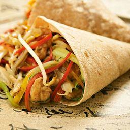Burrito XL en Cono de Carne y Pollo