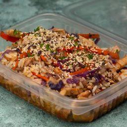 Wok de Pollo Thai