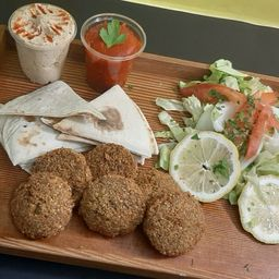 Vegan Falafel Box
