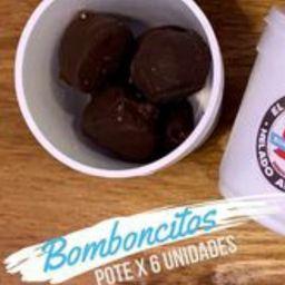 Bomboncitos Helados Bañados en Chocolate.
