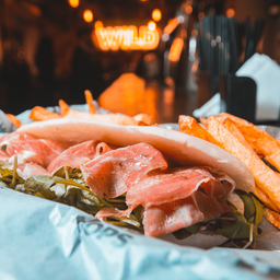Sándwich de Crudo