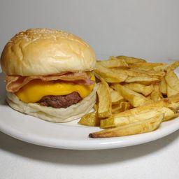 Burger Puerco Araña