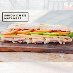 Sándwich de Matambre Casero