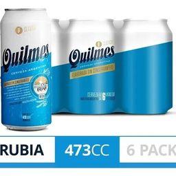 Six Pack Quilmes Clásica 500 ml