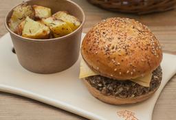 Hamburguesa de Quinoa Morada