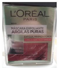 Combo 2X1 Mascarilla Loreal Skin Expert-Puras-Fco-Gr.-50