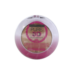 Combo 2X1 Polvo Compacto Maybelline Pure 3D 130 Beige