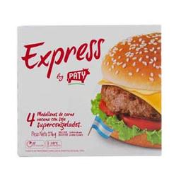 Hamburguesas Paty De Carne Express 4 U - 274 Gr