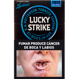 Cigarrillos Lucky Strike Click & Roll Box 20 U