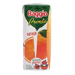 Jugo Baggio Naranja 200 mL