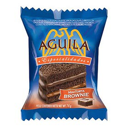 Alfajor aguila Brownie Mini Torta 74 g