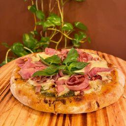 2 Pizzas y Kilo de Helado