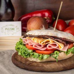 Sándwich en Pan Árabe