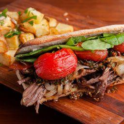Slim Meat Sándwich