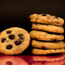 Cookies Choco Chips X 5