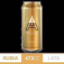 Andes Origen Cerveza Rubia