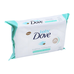 Toallita Húmeda Dove Baby Humectación Sensible 50 U