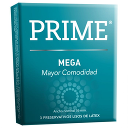 Preservativo Prime Mega Large 3 U