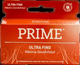 Preservativo Prime Ultra Fino 12 U