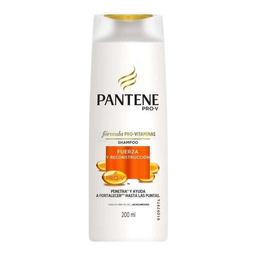 Shampoo Pantene Pro V Fuerza Y Reconstrucción 200 mL