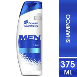 Shampoo Head & Shoulders Men 3 En 1 375 mL