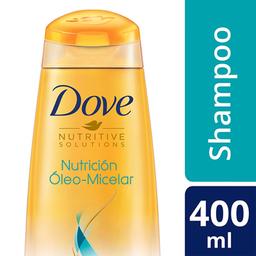 Shampoo Dove Nutrición Óleo Micelar 400 Ml