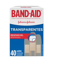 Apósito Band Aid Transparente 40 U