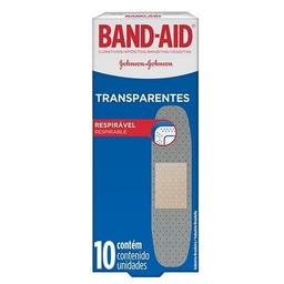 Apósito Band Aid Transparente 10 U