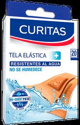 Tela Elástica Curitas Resistente al Agua 20 U