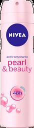 2 u Antitranspirante Nivea en Aerosol Pearl Beauty 150 mL