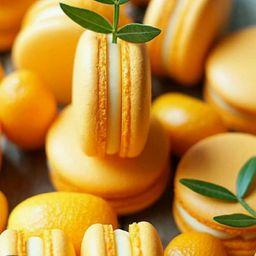 Macaron de Naranja