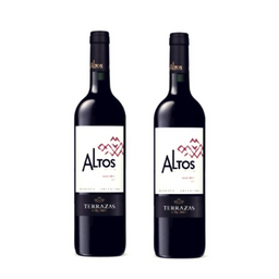 2 Altos Del Plata Malbec 750 ml