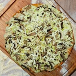 Pizza de Pollo y Champiñon