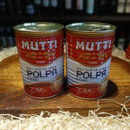 Lata de Polpa de Tomate Italiana Mutti