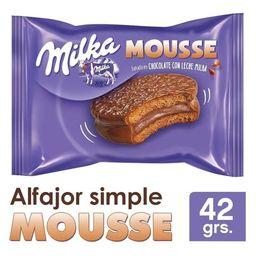 Milka Mousse Simple 42g