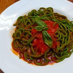 Spaguetti de Espinaca