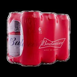 Six Pack Budweiser Lata 473ml