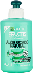 Crema Para Peinar Fructis Aloe Hidra Bomb 300Ml