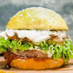 Yellow Power Burger