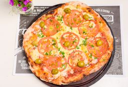 Pizza a la Leña Napolitana