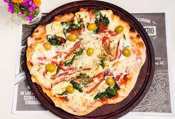 Pizza a la Leña Espinaca