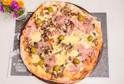 Pizza a la Leña Champignones