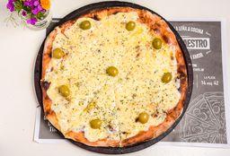 Pizza a la Leña 4 Quesos