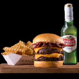 Dean Bacon Doble & Cerveza